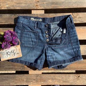 🎈NEW LISTING! Madewell Patch Pocket Denim Shorts